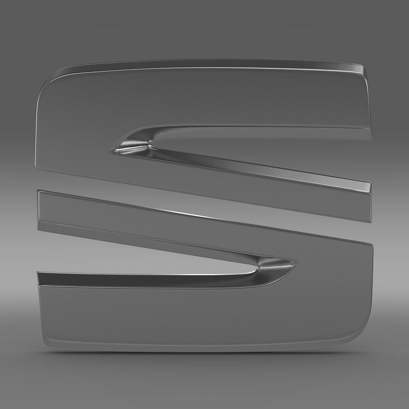 seat new logo 3d model 3ds max fbx c4d lwo ma mb hrc xsi obj 150485