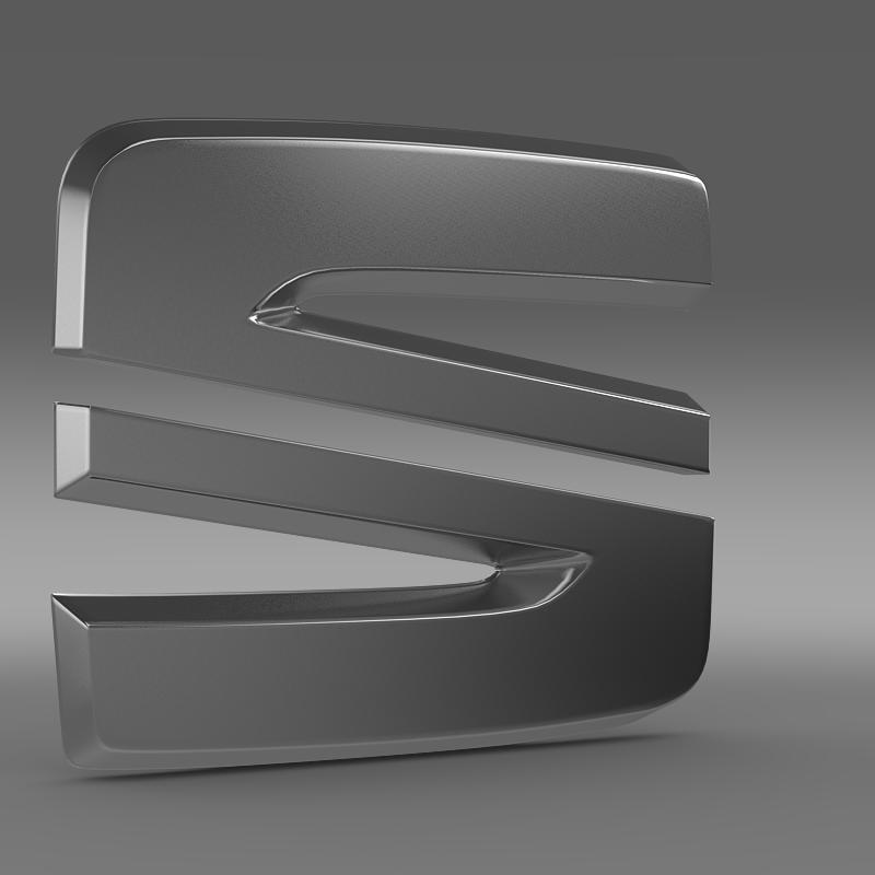 seat new logo 3d model 3ds max fbx c4d lwo ma mb hrc xsi obj 150486
