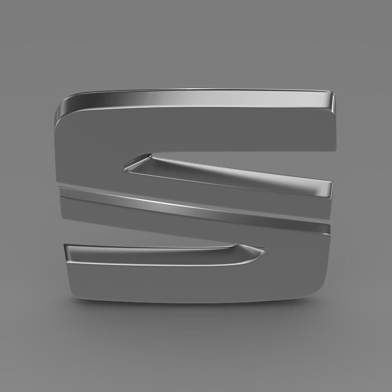 seat new logo 3d model 3ds max fbx c4d lwo ma mb hrc xsi obj 150488