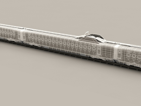 shinkansen n700 3d model 3ds max c4d lwo ma mb obj 127969