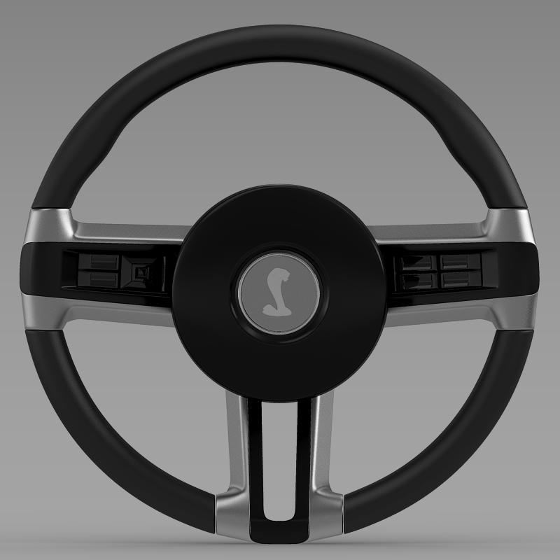 steering wheel shelby mustang 3d model 3ds max fbx c4d lwo ma mb hrc xsi obj 141416