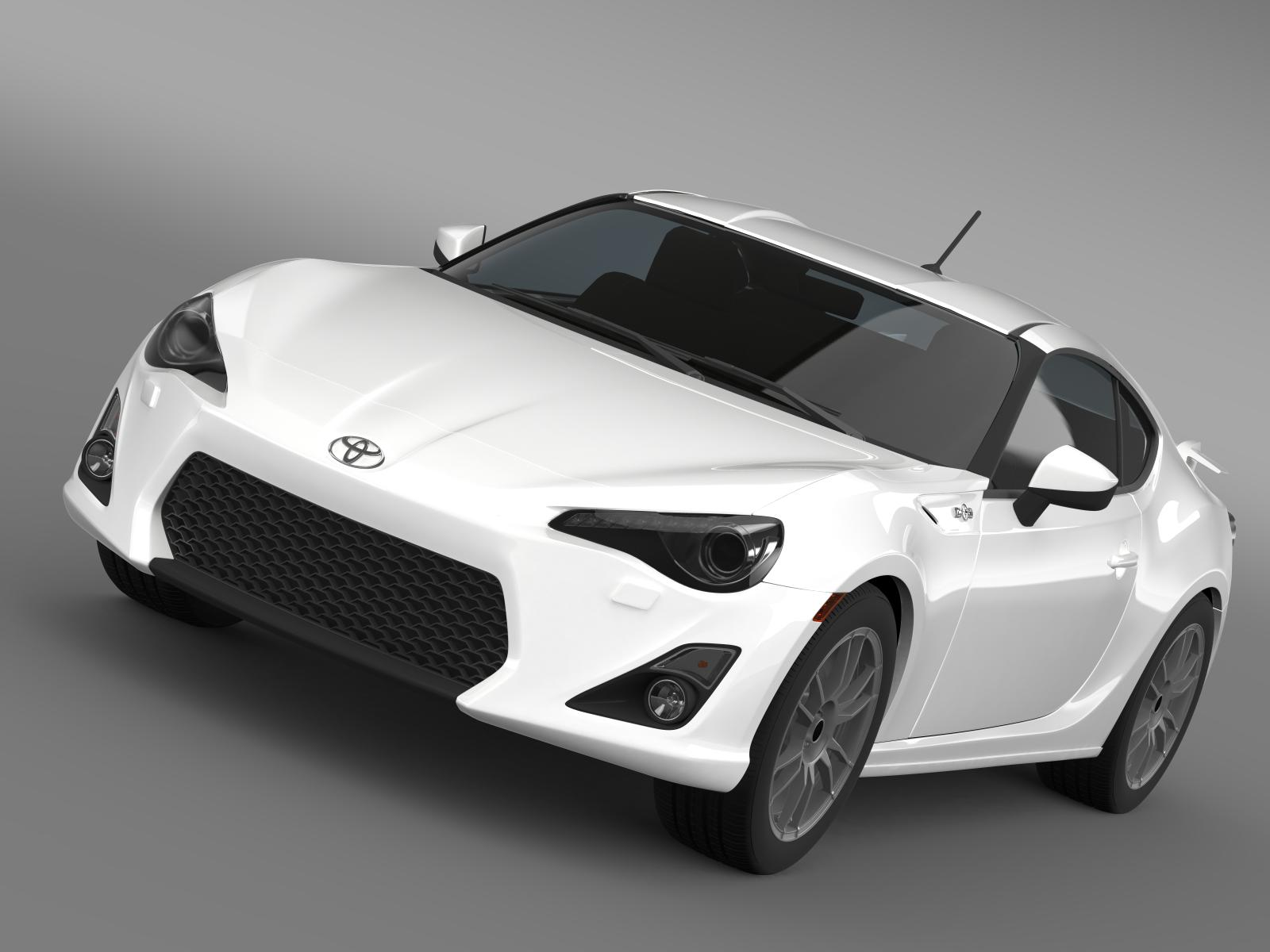 toyota gt 86 cup edition 2014 3d modelo 3ds max fbx c4d lwo ma mb hrc xsi obj 163337