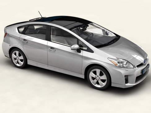 toyota prius 2010 low res interior 3d model 3ds max c4d lwo ma mb obj 158709