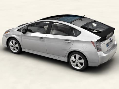 toyota prius 2010 low res interior 3d model 3ds max c4d lwo ma mb obj 158710