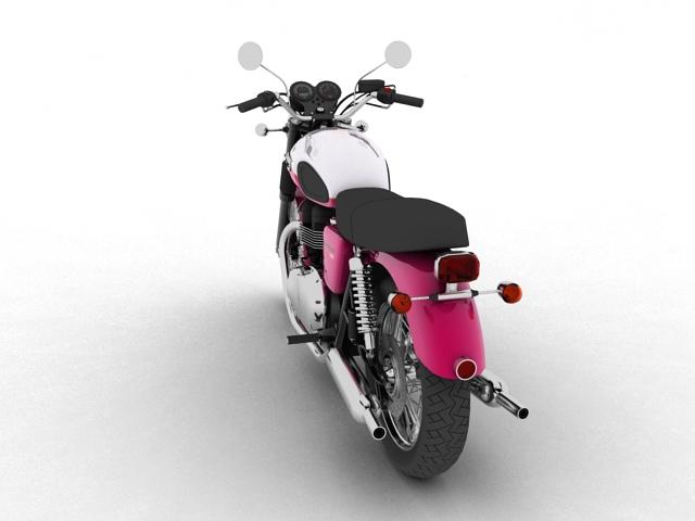triumph bonneville t100 2012 3d model 3ds max c4d obj 152108