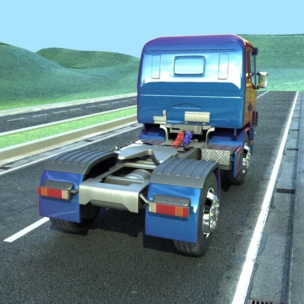 truck scania 420 high detail 3d model max fbx obj 131680