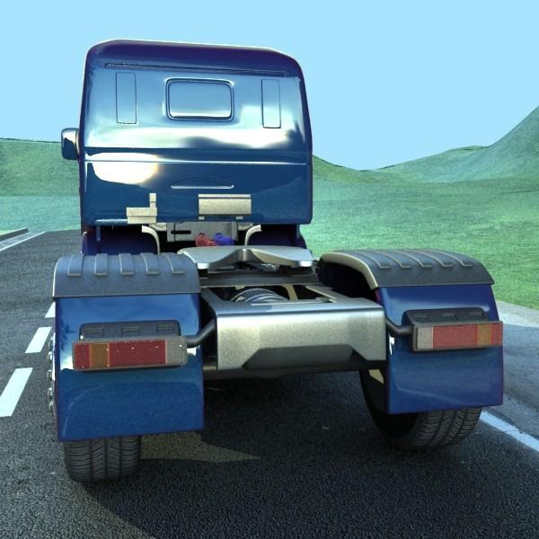 truck scania 420 high detail 3d model max fbx obj 131682