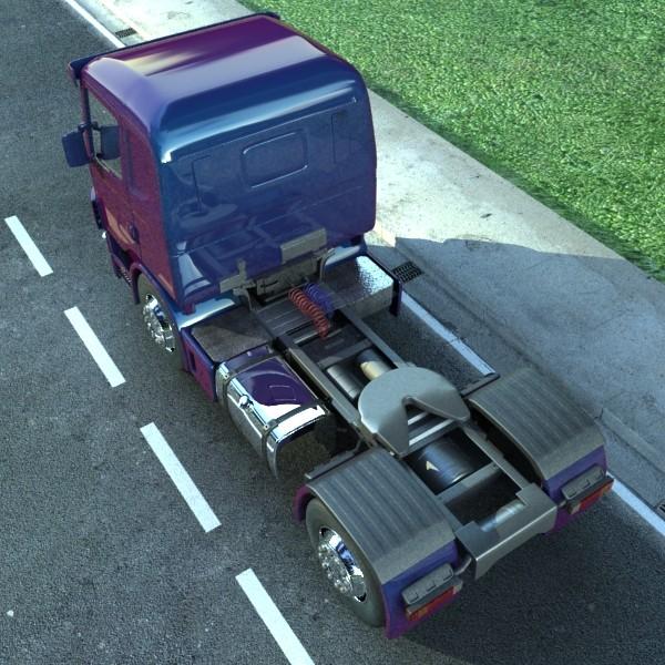truck scania 420 high detail 3d model max fbx obj 131683