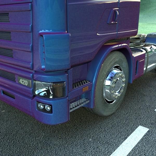 truck scania 420 high detail 3d model max fbx obj 131685
