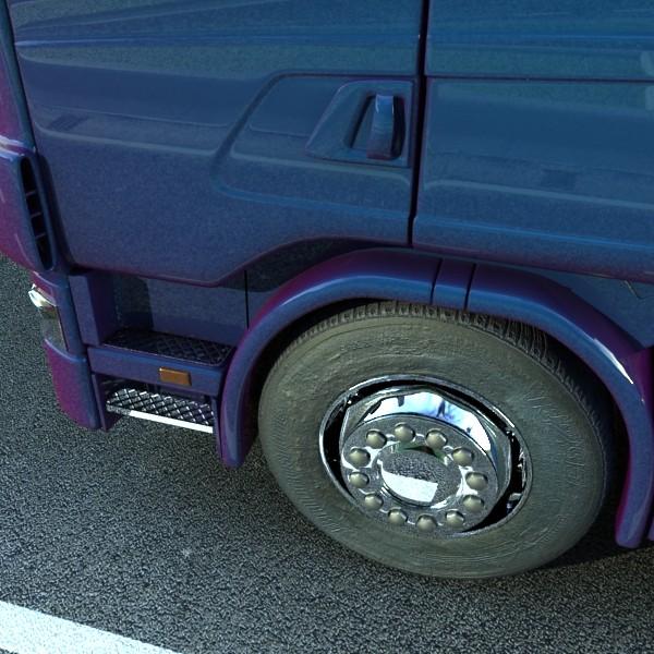 truck scania 420 high detail 3d model max fbx obj 131686