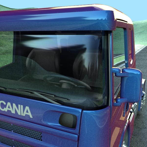 truck scania 420 high detail 3d model max fbx obj 131688