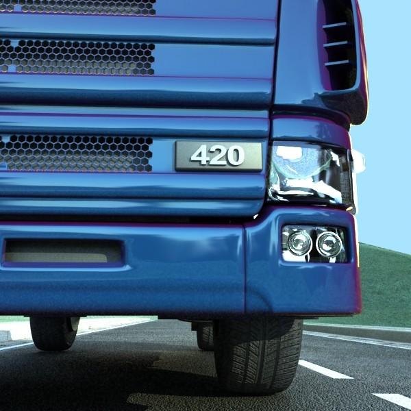 truck scania 420 high detail 3d model max fbx obj 131689