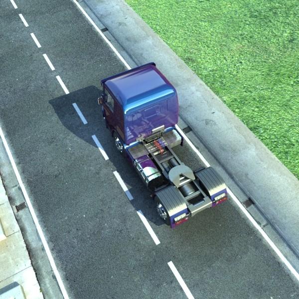 truck scania 420 high detail 3d model max fbx obj 131694