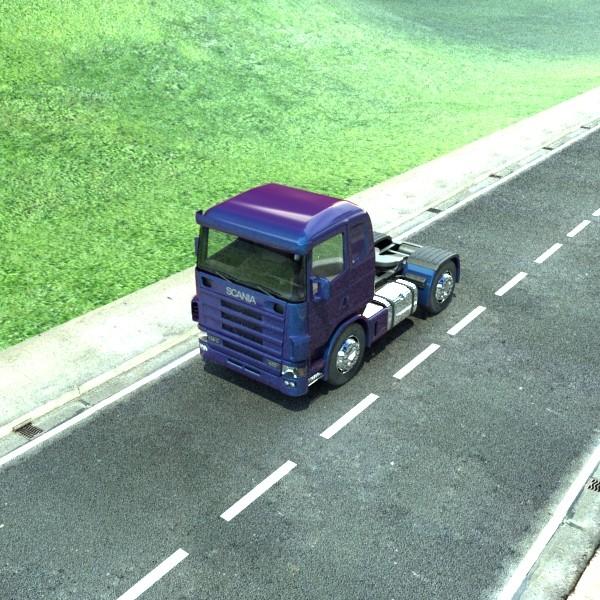 truck scania 420 high detail 3d model max fbx obj 131695