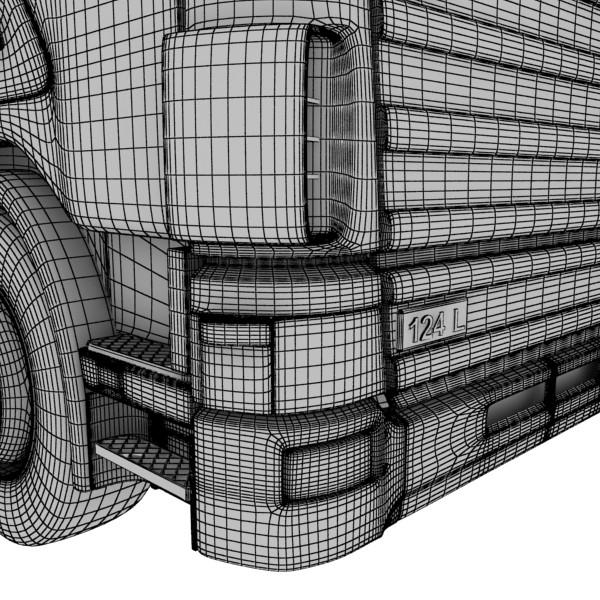 truck scania 420 high detail 3d model max fbx obj 131697