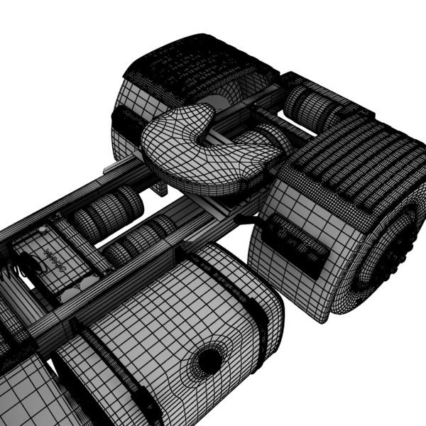 truck scania 420 high detail 3d model max fbx obj 131698