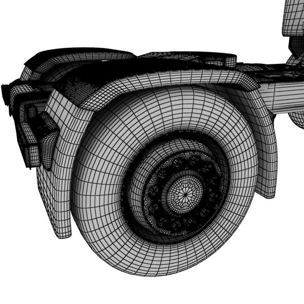 truck scania 420 high detail 3d model max fbx obj 131699