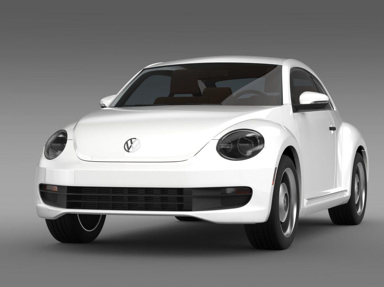 volkswagen beetle classic 2015 3d model 3ds max fbx c4d lwo ma mb hrc xsi obj 164475
