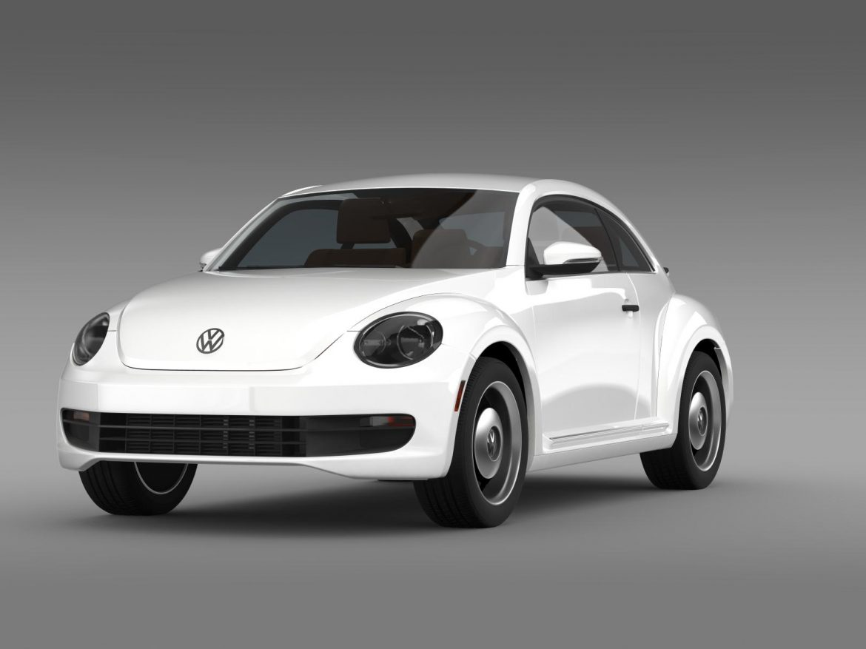 volkswagen beetle classic 2015 3d model 3ds max fbx c4d lwo ma mb hrc xsi obj 164476