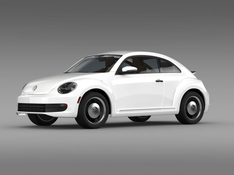 volkswagen beetle classic 2015 3d model 3ds max fbx c4d lwo ma mb hrc xsi obj 164477