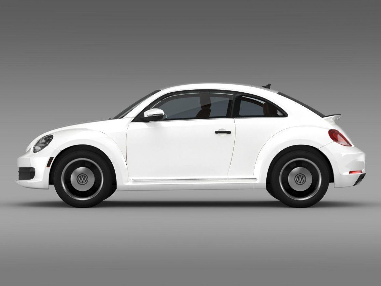 volkswagen beetle classic 2015 3d model 3ds max fbx c4d lwo ma mb hrc xsi obj 164478