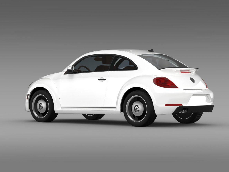 volkswagen beetle classic 2015 3d model 3ds max fbx c4d lwo ma mb hrc xsi obj 164479