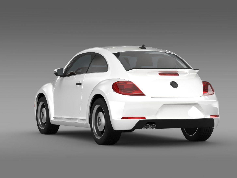 volkswagen beetle classic 2015 3d model 3ds max fbx c4d lwo ma mb hrc xsi obj 164480