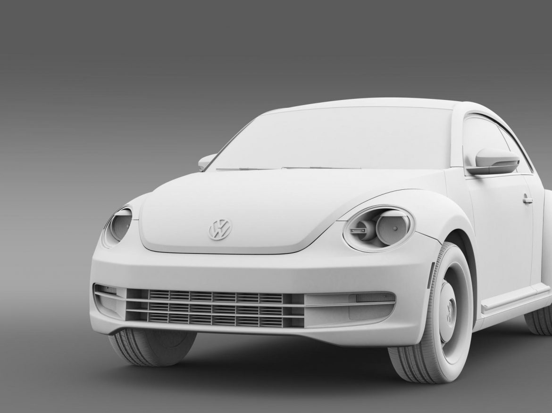 volkswagen beetle classic 2015 3d model 3ds max fbx c4d lwo ma mb hrc xsi obj 164487