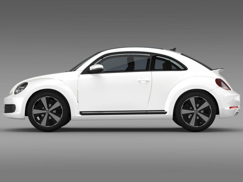 volkswagen fusca 3d model 3ds max fbx c4d lwo ma mb hrc xsi obj 162569