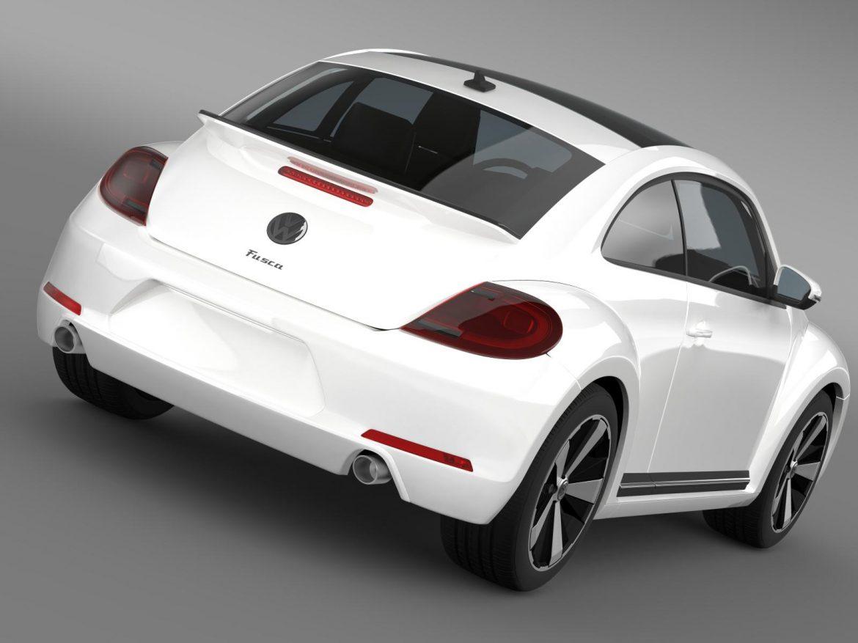 volkswagen fusca 3d model 3ds max fbx c4d lwo ma mb hrc xsi obj 162571