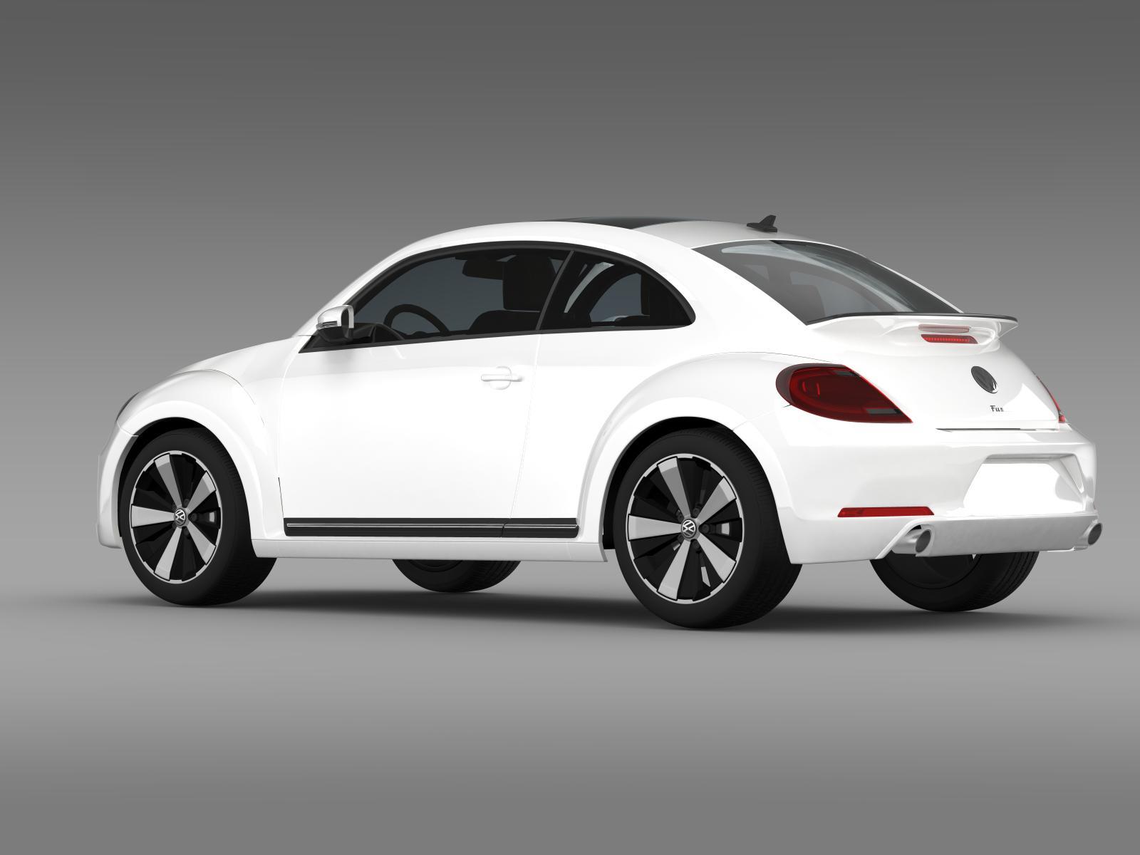 Volkswagen Fusca 3D Model