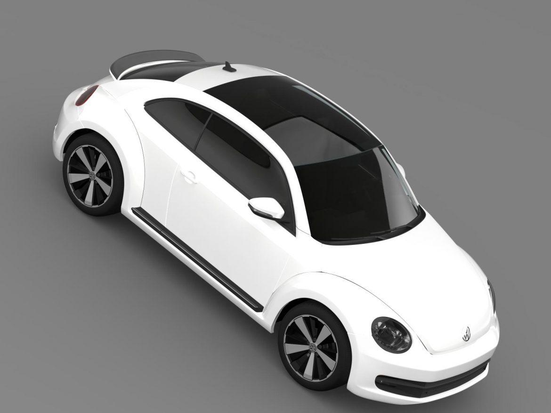 volkswagen fusca 3d model 3ds max fbx c4d lwo ma mb hrc xsi obj 162580