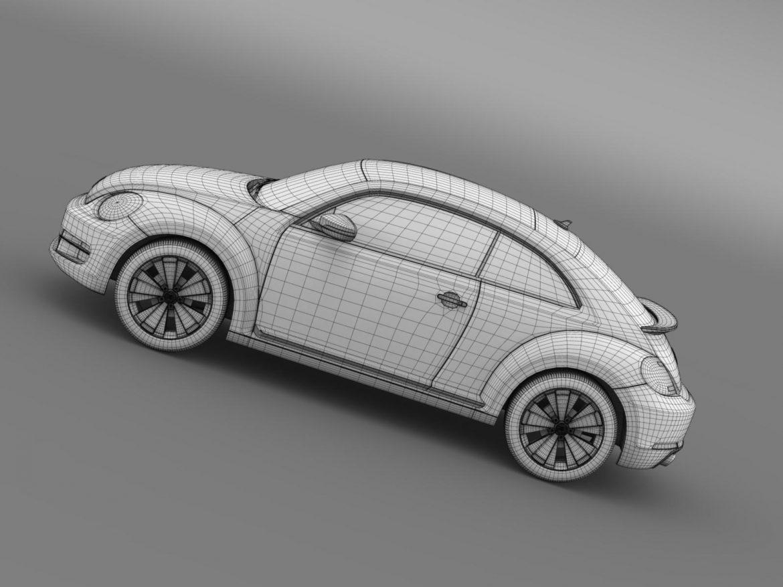 volkswagen fusca 3d model 3ds max fbx c4d lwo ma mb hrc xsi obj 162586