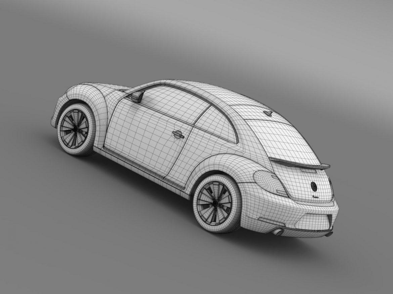 volkswagen fusca 3d model 3ds max fbx c4d lwo ma mb hrc xsi obj 162587