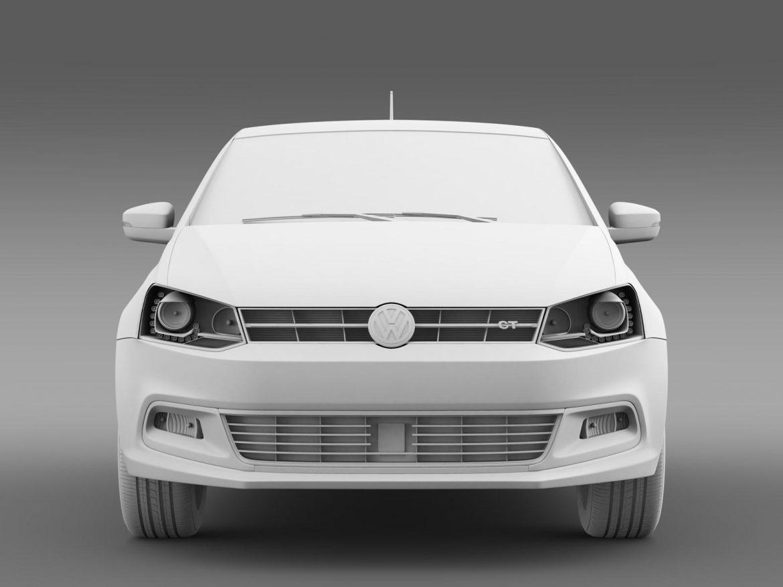 volkswagen polo bluegt 5d 2014 3d model 3ds max fbx c4d lwo ma mb hrc xsi obj 161953
