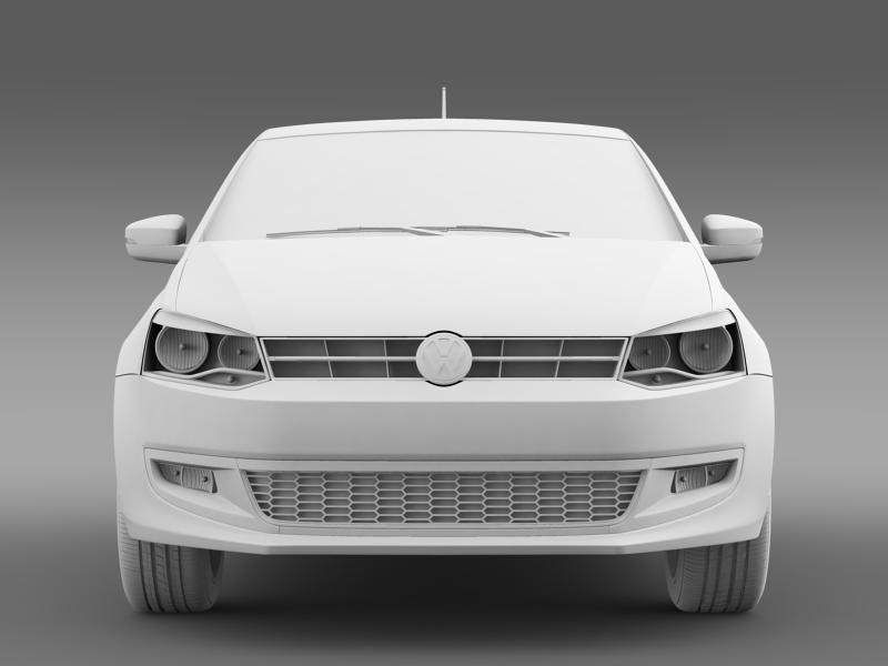 volkswagen polo worthersee 3d model 3ds max fbx c4d lwo ma mb hrc xsi obj 161279