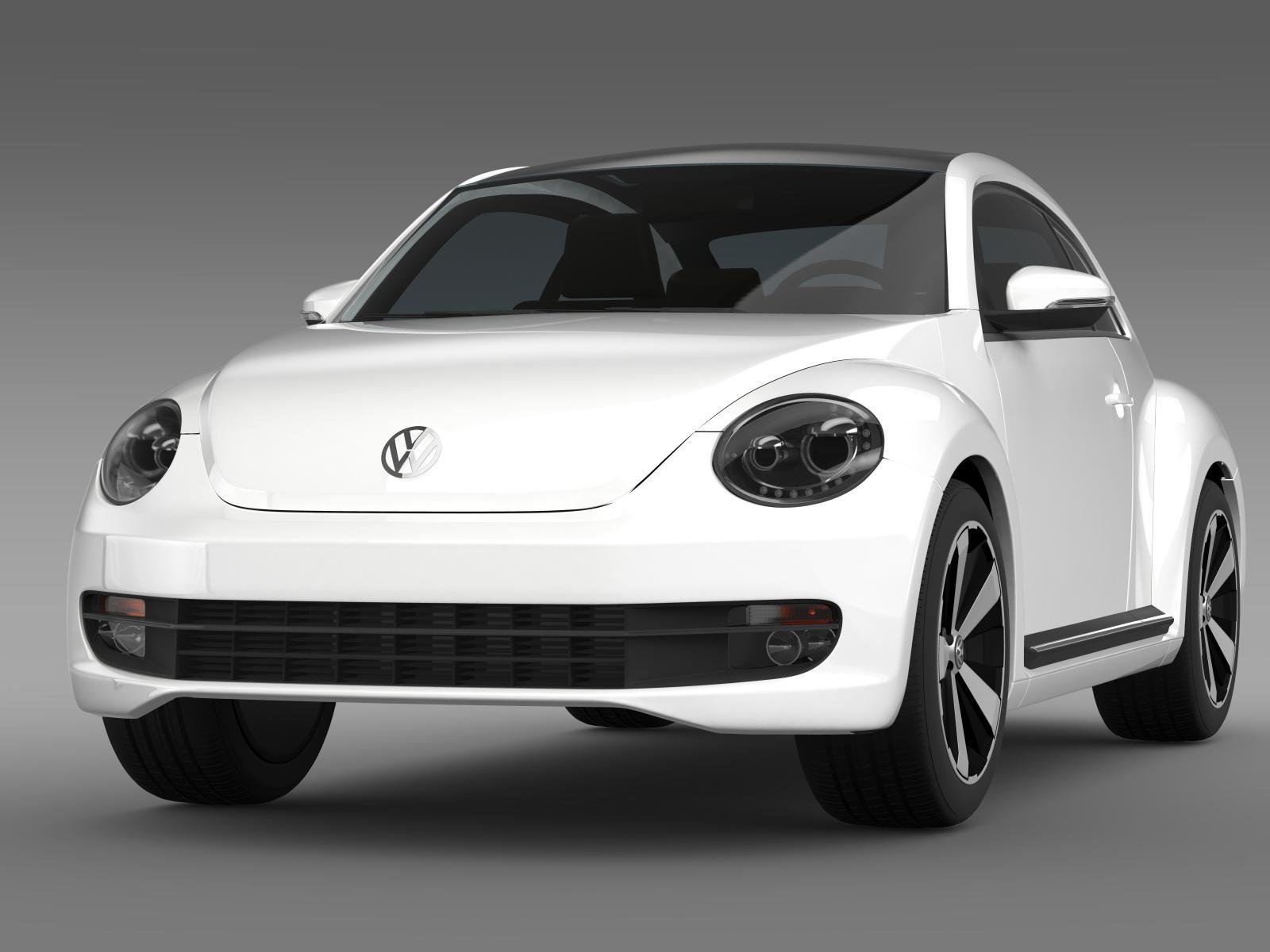 Volkswagen Fusca 3D Model – Buy Volkswagen Fusca 3D Model ...
