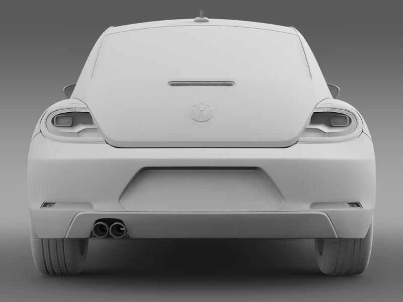 vw beetle design 2012 3d model 3ds max fbx c4d lwo ma mb hrc xsi obj 147441