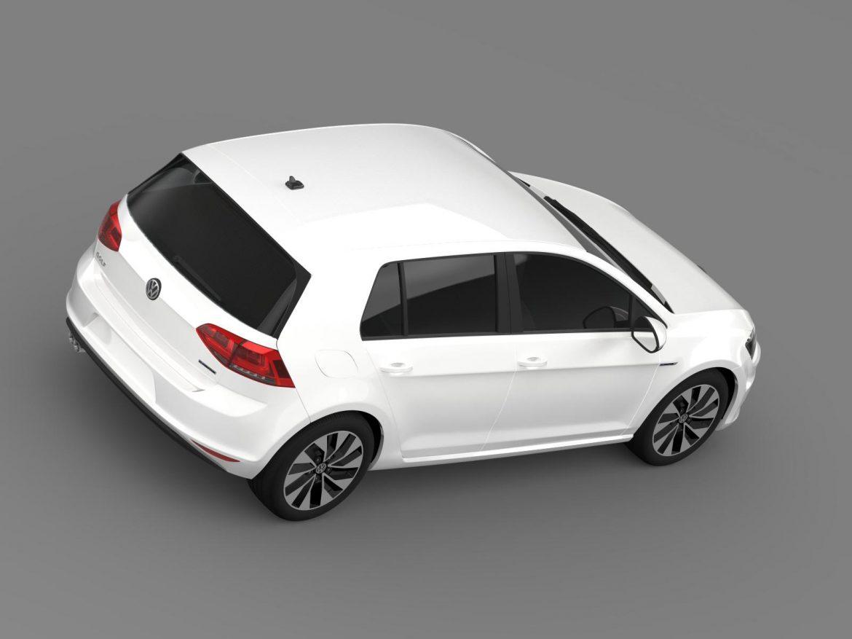 vw golf bluemotion concept typ 5g 2012 3d model 3ds max fbx c4d lwo ma mb hrc xsi obj 165980