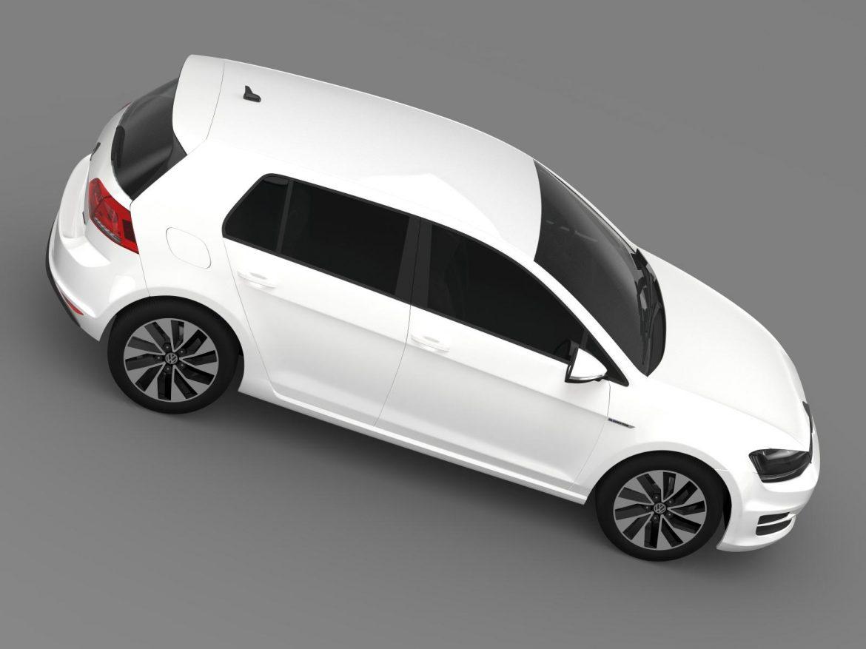 vw golf bluemotion concept typ 5g 2012 3d model 3ds max fbx c4d lwo ma mb hrc xsi obj 165981