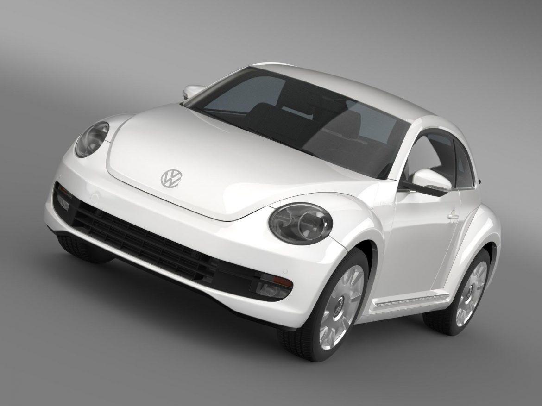 vw i beetle 2015 3d model 3ds max fbx c4d lwo ma mb hrc xsi obj 153274