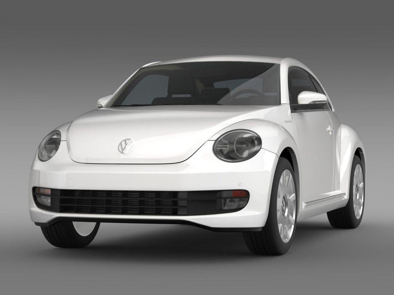 vw i beetle 2015 3d model 3ds max fbx c4d lwo ma mb hrc xsi obj 153276