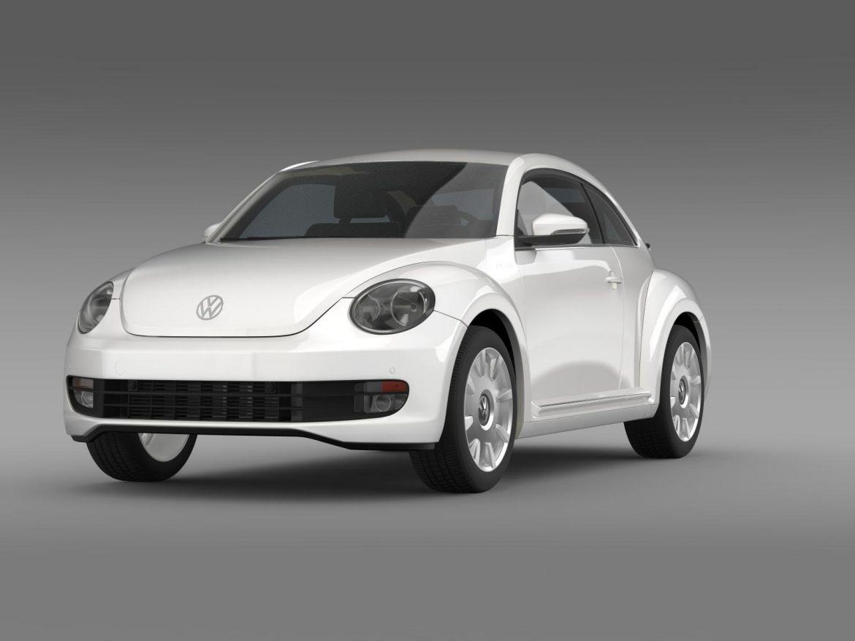 vw i beetle 2015 3d model 3ds max fbx c4d lwo ma mb hrc xsi obj 153277