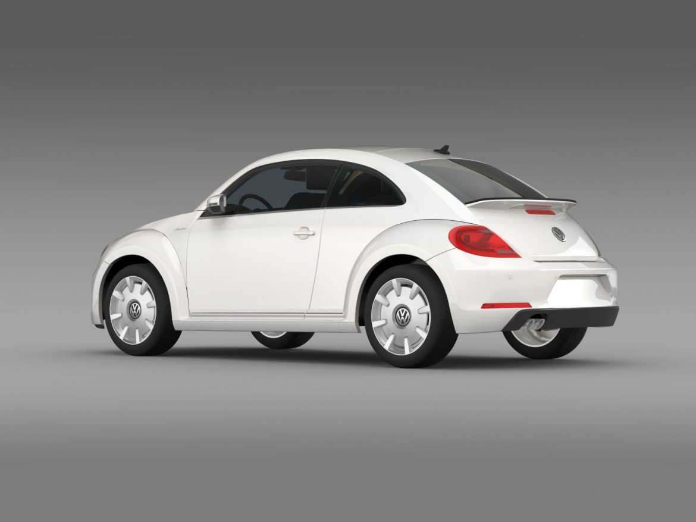vw i beetle 2015 3d model 3ds max fbx c4d lwo ma mb hrc xsi obj 153280