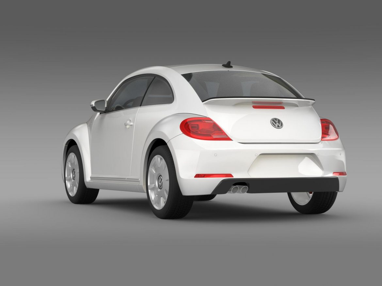 vw i beetle 2015 3d model 3ds max fbx c4d lwo ma mb hrc xsi obj 153281