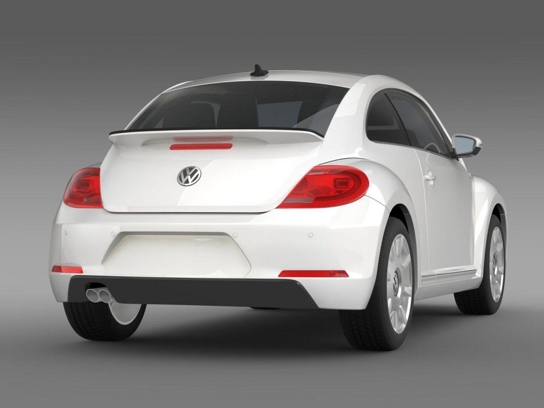 vw i beetle 2015 3d model 3ds max fbx c4d lwo ma mb hrc xsi obj 153282