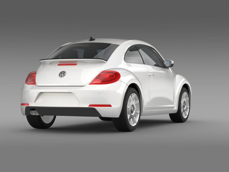 vw i beetle 2015 3d model 3ds max fbx c4d lwo ma mb hrc xsi obj 153283