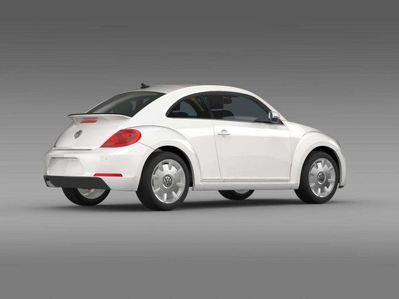 vw i beetle 2015 3d model 3ds max fbx c4d lwo ma mb hrc xsi obj 153284