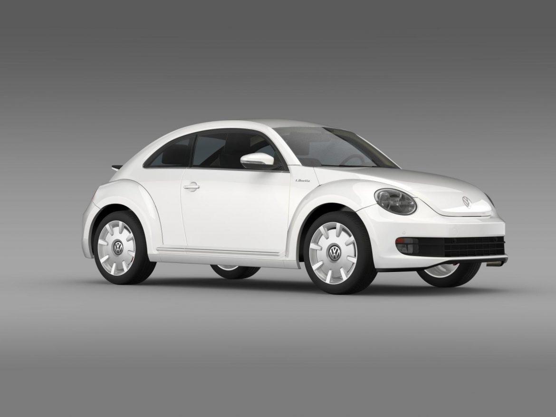 vw i beetle 2015 3d model 3ds max fbx c4d lwo ma mb hrc xsi obj 153286