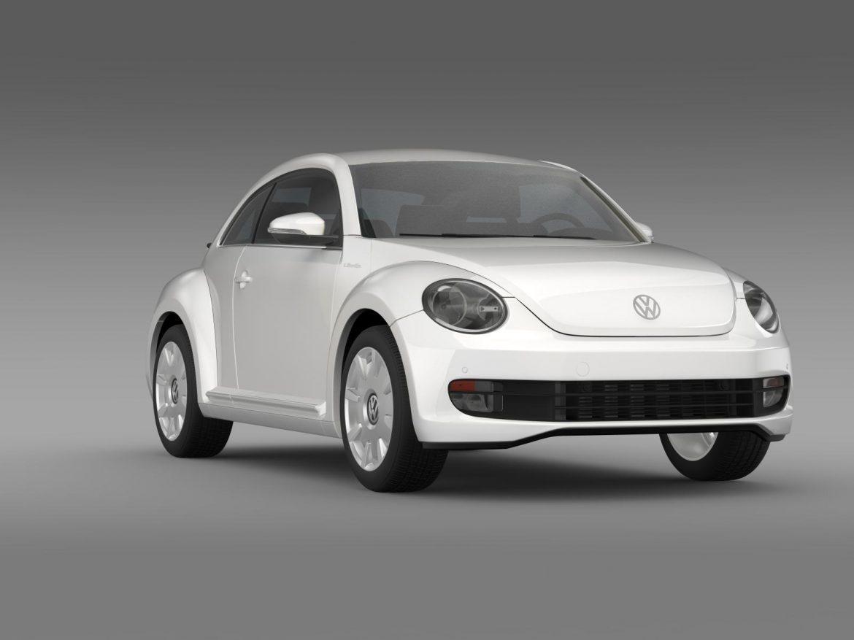 vw i beetle 2015 3d model 3ds max fbx c4d lwo ma mb hrc xsi obj 153287